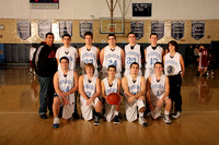 Basketball Boys JV Team 1-5-12