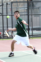 Tennis Boys Var Action 4-5-12