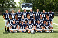 Football 11th Grade Players 8-24-12