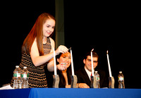 National Honor Society Induction 4-30-15 em