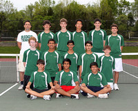 Tennis Boys JV Team 5-8-12