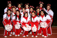 Cheerleaders Team & Action 11-17-12
