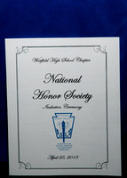 National Honor Society Induction Ceremony 4-25-13