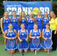 2013 Cranford Women's Tennis