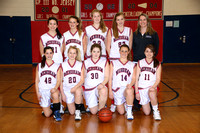 Basketball Girls Freshman Team 1-20-12