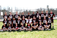Lacrosse Boys JV Team 3-30-12
