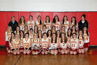 Lacrosse Girls Team and Action