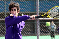 Tennis Boys Team & Action 3-23-12