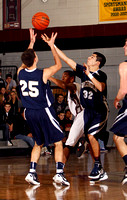 Basketball Boys Var Action 1-5-12