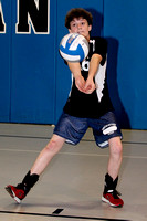 Volleyball Fr Team & Action 3-22-12