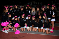 Homecoming Game Action, Band & Cheerleaders 10-18-13