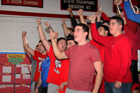 Fans at Basketball Game 1-14-14