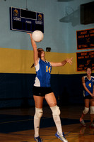 Volleyball JV Team & Action 9-13-11