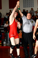 Wrestling Team & Action 1-12-12