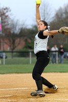 Softball Var Action 4-14-12