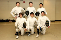 Fencing Boys Winter 2011-2012