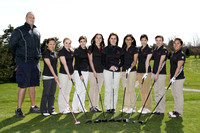 Golf Girls Team & Action 3-27-12