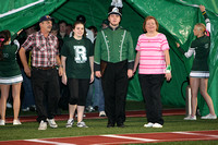 Senior Night at Football Game 10-19-12