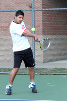 Tennis Boys Var. Team & Action 3-19-12