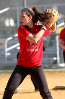 Softball JV Action 3-23-12