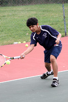 Tennis Boys Team & Action 3-22-12