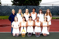 Tennis Girls JV Team 10-14-11