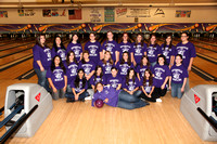 Bowling Girls Varsity Team & Action 10-4-11
