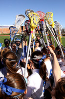 Lacrosse Girls Var Action 4-2-2012