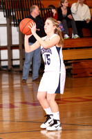 Basketball Girls Action 1-31-12