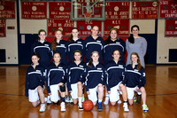 Basketball Girls JV Team 1-20-12