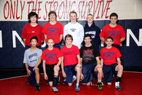 Wrestling JV Team Winter 2011-2012
