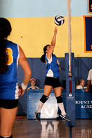 Volleyball Var Team & Action 9-13-11