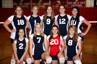 Volleyball Girls Var Team 1-12-12
