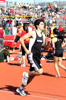 Boys Track Action 4-12-14