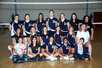 Volleyball Girls Fr Team 9-30-11